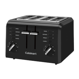 Hotel-Toaster-Cuisinart-Stay-4-Slice-Compact-CPT-142BKWH