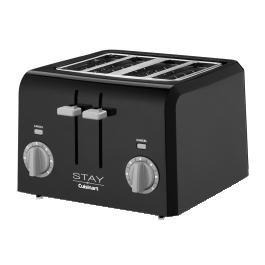Hotel-Toaster-Cuisinart-Stay-4-Slice-WPT440BK