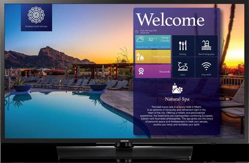 Samsung Hospitality TVs Q1 2020 Promotion