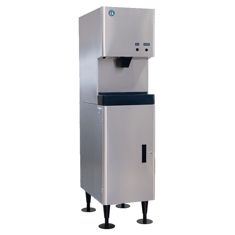 Hoshizaki-DCM-270BAH-Cubelet-Ice-and-Water-Dispenser-Air-Cooled-Commercial-Ice-Machine-Built-in-Storage-Bin