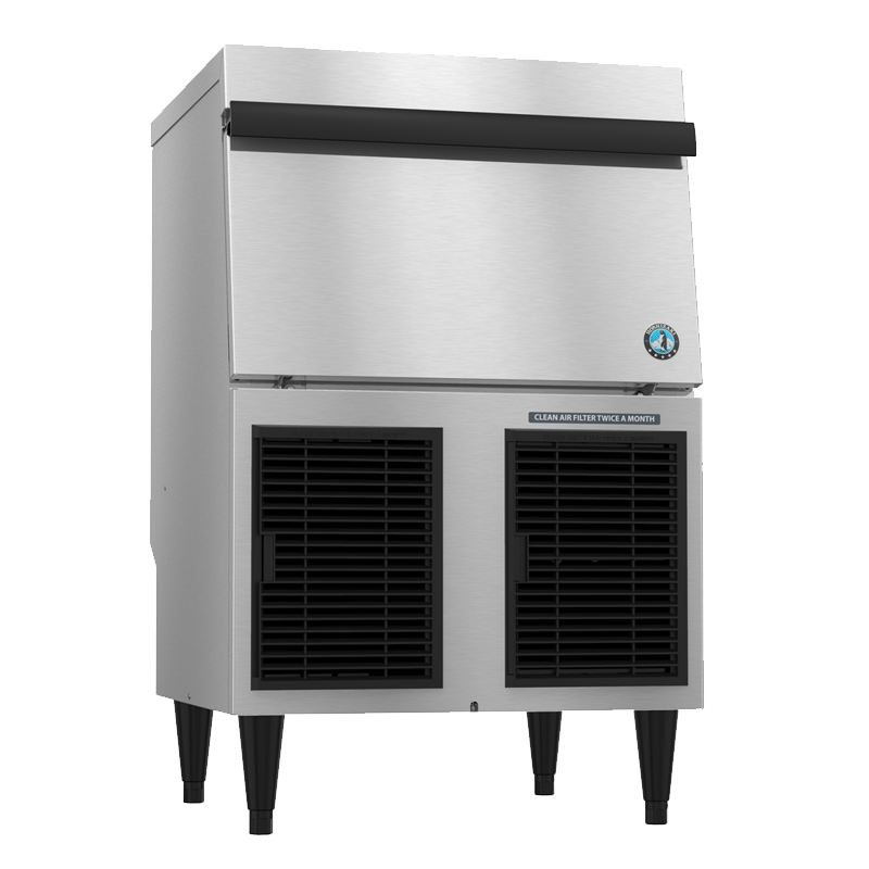 Hoshizaki-F-330BAJ-C-CubeletAir-Cooled-Commercial-Ice-Machine-Built-in-Storage-Bin