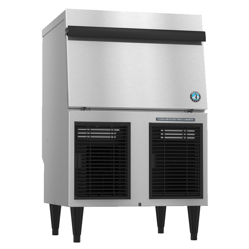 Hoshizaki-F-330BAJ-Flaker-Air-Cooled-Commercial-Ice-Machine-Built-in-Storage-Bin