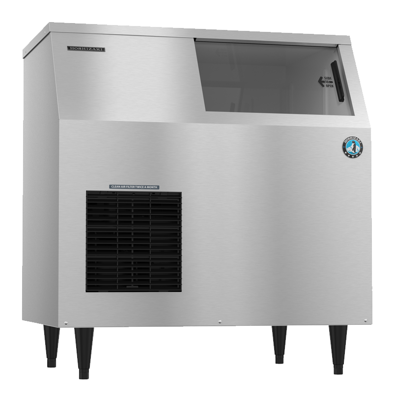 Hoshizaki-F-500BAJ-Flaker-Air-Cooled-Commercial-Ice-Machine-Built-in-Storage-Bin