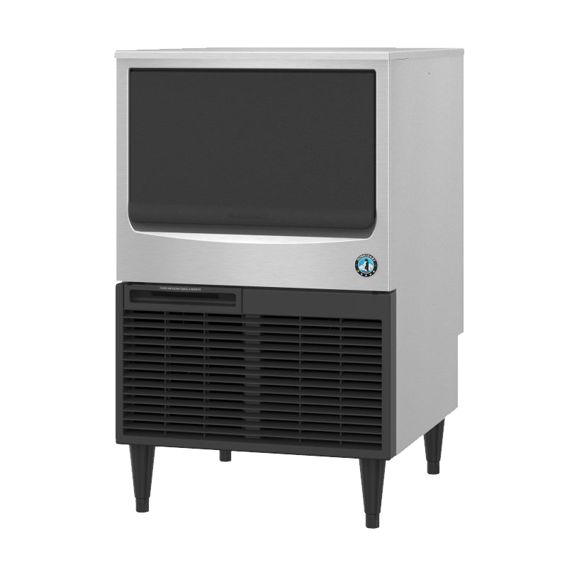 Hoshizaki-KM-161BAJ-Crescent-Cuber-Air-Cooled-Commercial-Ice-Machine-Built-in-Storage-Bin