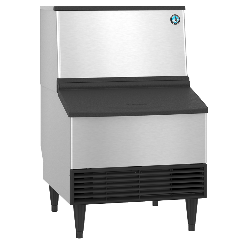 Hoshizaki-KM-231BAJ-Crescent-Cuber-Air-Cooled-Commercial-Ice-Machine-Built-in-Storage-Bin