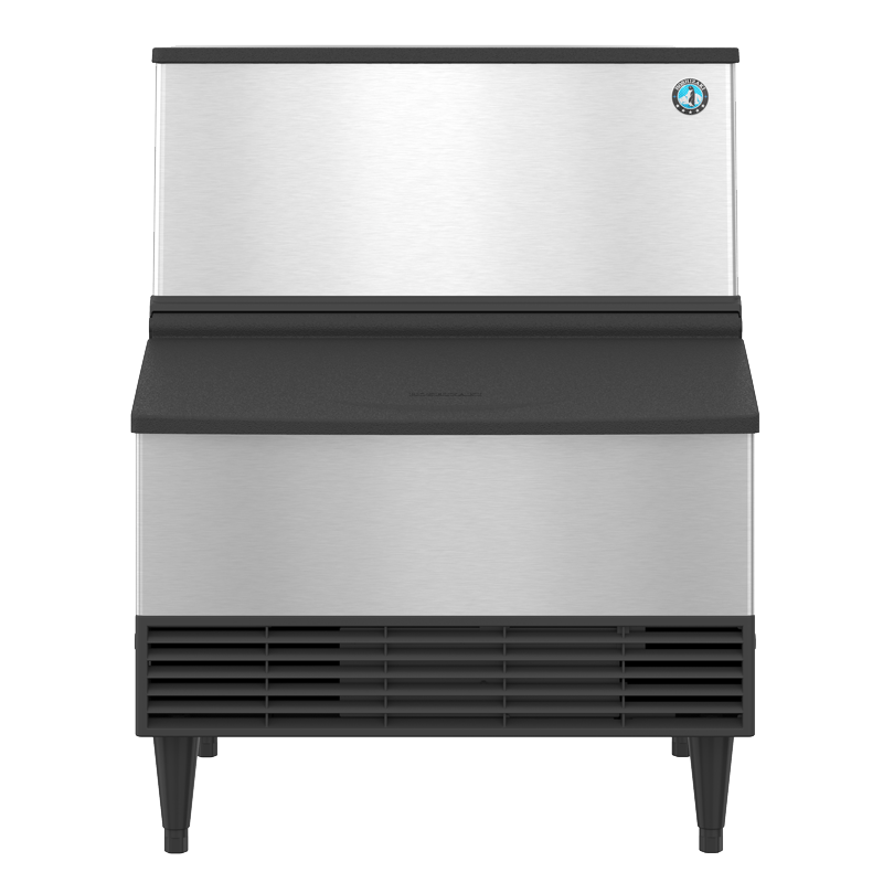 Hoshizaki-KM-301BWJ-Crescent-Cuber-Water-Cooled-Commercial-Ice-Machine-Built-in-Storage-Bin