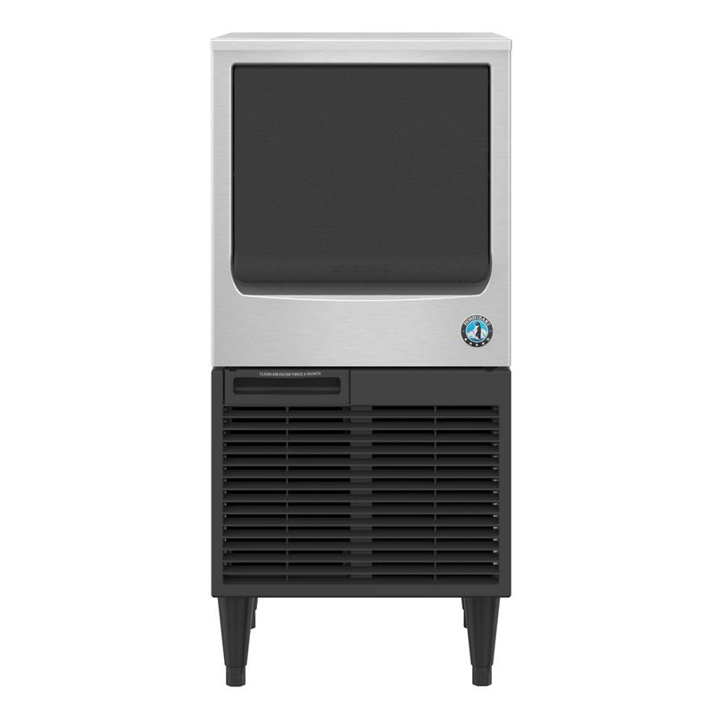 Hoshizaki-KM-81BAJ-Crescent-Cuber-Air-Cooled-Commercial-Ice-Machine-Built-in-Storage-Bin